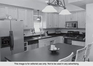 Something as simple as new lighting for your kitchen can create a bright new look.