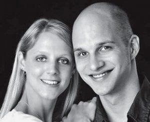 Tina Aschliman and Ryan McClain