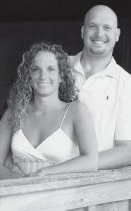 Megan Barnaby and Jason Martz