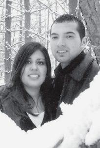 Desirey Rodriguez and Joe Silva