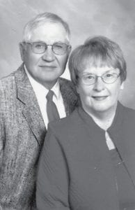 Mr. and Mrs. Harley Burkholder