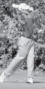 Steven Kinsman, a senior, placed 15th.-  photo by Allan Kinsman