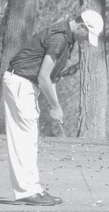 Jacob Nafziger, a junior, placed 26th.-  photo by Jeff Bostelman