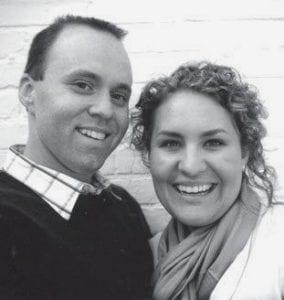 Thomas Riha and Jennifer Kinsman