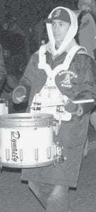 Gabe Rodriguez was among members of the Archbold High School band who performed.