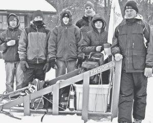 Members of Archbold Boy Scout Troop 63's Infinity Patrol, winners of the Klondike Derby, are, from left: Jesse Felix, Nick Cassidy, Camden Short, Chandler Tinsman, David Miller, and Adam Steider. -  courtesy        photo
