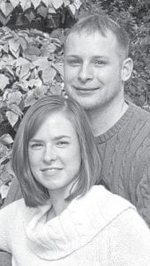 Maria Beck and Chad Schroeder