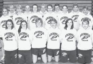 2010 Archbold High School Girls Track