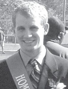 Tim Nofziger, son of Dan and Deb, rural Archbold, was a senior escort in the Homecoming court at Bluffton University, Saturday, Oct. 9. A 2007 AHS graduate, Nofziger will graduate in December with an accounting major and a business administrator minor. He is active in intramural sports at the university.- courtesy photo