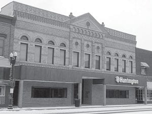 Huntington Bank will close its operations in Archbold's historic downtown district on Friday, March 9. At least part of the building has been used as a bank since the structure was built in 1908. After closing, Huntington Bank officials said the building will be sold.– photo by David Pugh
