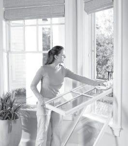 Make sure cleaning windows is on your home improvement checklist for spring.
