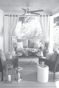 If you want to update your deck or patio for warm weather entertaining, you don't have to spend a lot of time or money.