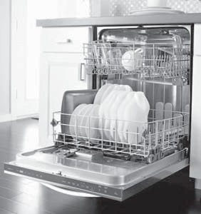 Using a dishwasher doesn't just save time; it also saves water.
