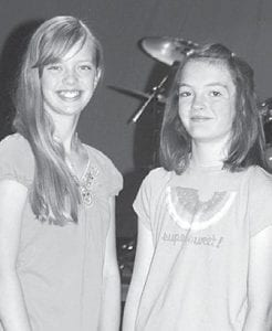 Jensi Shaw, left, and Madeleine Wixom