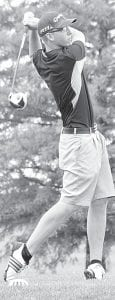 Stuart Wyse was match medalist in Archbold's quad match with Ayersville, Fayette, and Pettisville, Wednesday, Aug. 15.– photo by David Pugh