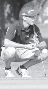 Stuart Wyse tied for match medalist honors at the Stryker Invitational, Saturday, Sept. 8.