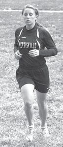 Taylor D'Alelio finished 17th in the girls race at the BBC Jamboree, Tuesday, Sept. 18.– photo by Jack Frey