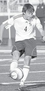 David Bontrager scored 16 goals as a senior and 38 goals for his high school career.– photo by Mary Huber
