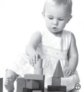 When buying a toy or book for a child, the key is to find one that's a good fit for your child's level of development.
