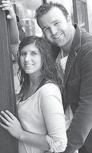 Haley Frank and Brock Mealer