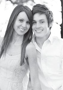 Andrea Grieser and Brandon Tijerina