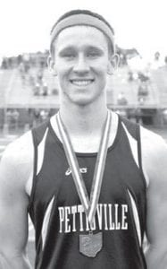 Dominic Frey Pettisville 1600 4th place, Div. III