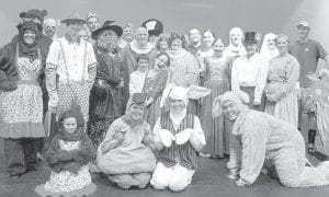 Cast members of the Archbold Community Theatre production of