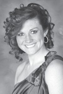 Rachel Wiemken, AHS '12, was named the third runner-up in the 2013 Tomato Festival pageant at the Henry County Fair. The daughter of Dean and Sharon, she represented Ridgeville Township. She attends Bowling Green State