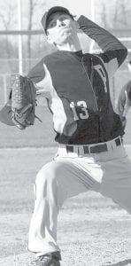 Christian Barhite throws a pitch.– photo by Mario Gomez