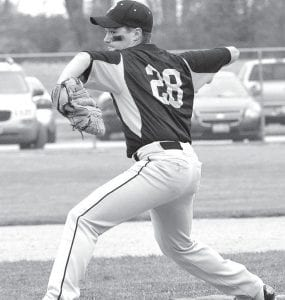 Evan King pitches against Archbold, Monday, May 9.– photo by Mario Gomez
