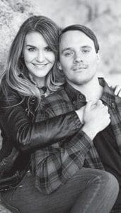 Kellie Andrews and Sam Miller