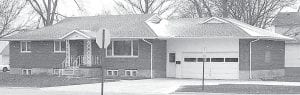 This is the home at 404 Union Street in Archbold that JJ SafeHouse, a private group, is turning into a rehabilitation center for victims of domestic violence. The organization has opted to make the location of the house public. Jennifer Panczyszyn, JJ Safehouse chairman, said the house should be ready for clients in December.– courtesy photo