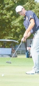 Kade Kern shot a 41 against Ottawa Hills and Toledo Christian and a 38 against Delta last week.– photo by Mario Gomez