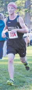 Pettisville's Calvin Nofziger placed 34th in the Boys Gold race.– photo by Beth Foor