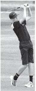 Tom McWatters shot a low score for the Birds in the BBC Tournament last week.– photo by Mario Gomez