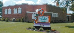 The former Elmira school building reopened as The Candy Cane Christmas Shoppe in 1998. The store closed in 2017, and the building has been bought by Adriel.– Archbold Buckeye archive photo